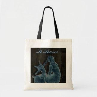 A sacola da estátua do Louvre Sacola Tote Budget
