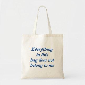 A sacola da mãe bolsa tote