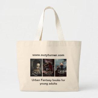 A sacola da saga do corvo bolsa tote grande
