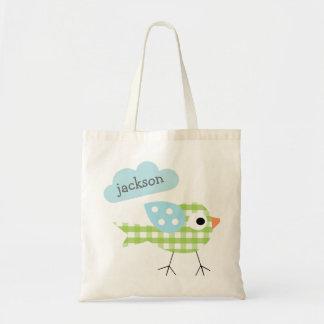 A sacola das crianças bolsa de lona