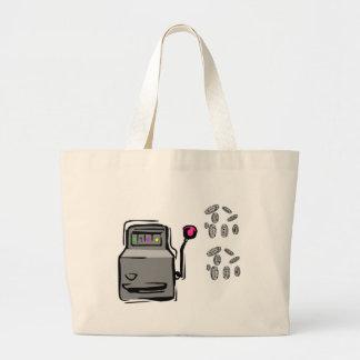 A sacola do jogador bolsa tote grande