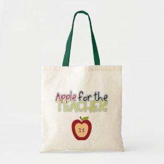A sacola do meio professor de Apple Bolsas Para Compras