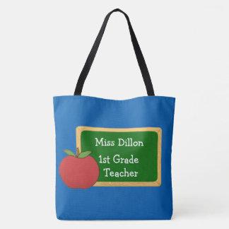 A sacola do professor feito sob encomenda bolsa tote