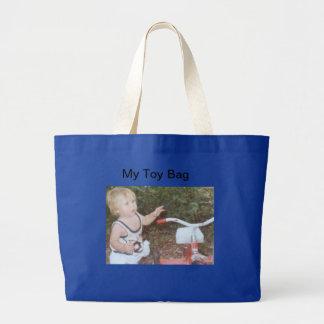 A sacola enorme da criança sacola tote jumbo