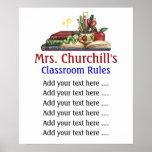 A sala de aula do professor ordena o Lg. por SRF Posters