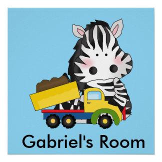A sala de Gabriel Poster Perfeito