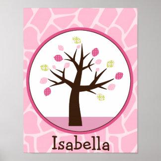 A selva Jill /Tree personalizou o poster da arte Pôster