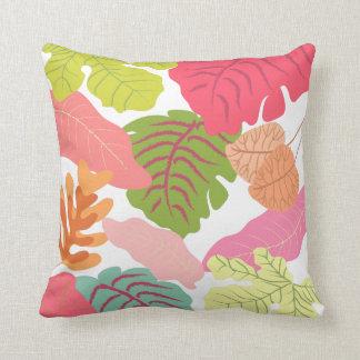 A selva tropical sae da arte do vetor da semente d travesseiro de decoração