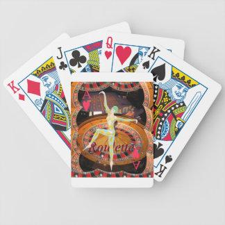 A senhora Sorte, roleta do casino carda o montagem Jogos De Cartas