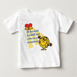 A senhorita pequena Luz do sol | todo que você Camiseta Para Bebê