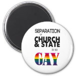 A separação de igreja & de estado é tão ALEGRE Imas De Geladeira