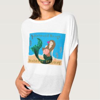 A sereia irrisório do cavalo marinho soa a camisa t-shirt