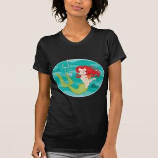A sereia obtem enganchada t-shirt