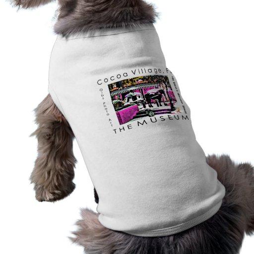 A série do artista do MUSEU pelo jGibney junto Camisas Para Cães