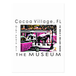A série do artista do MUSEU pelo jGibney junto Cartão Postal