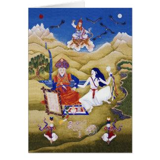 ' a-Shul Pema Legden & Khandro Yeshé Réma [cartão] Cartão Comemorativo