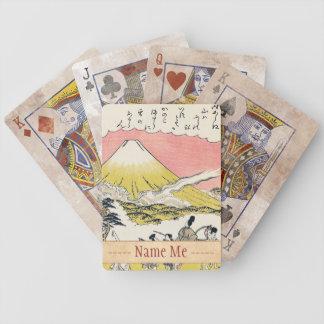 A sílaba ele que passa a arte do japonês de Monte  Jogos De Baralhos