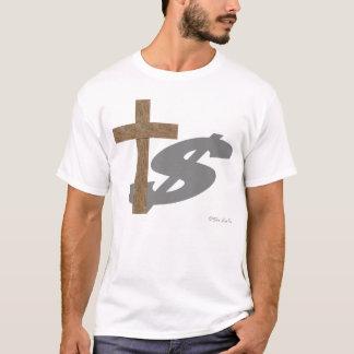 A sombra da religião camiseta