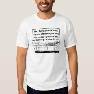 A Sra. Jaypher de Edward Lear T-shirt