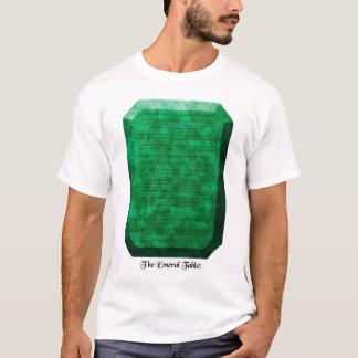 A tabuleta esmeralda camiseta