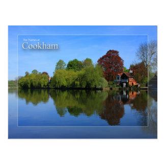 A Tamisa no cartão de Cookham Cartão Postal