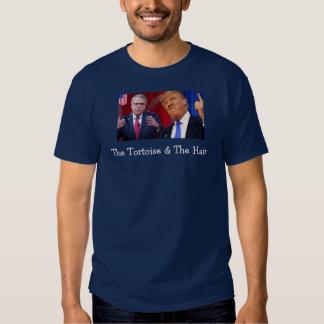 A tartaruga & o Bush-Trunfo T do cabelo Camiseta