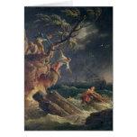 A tempestade, c.1762 cartão comemorativo
