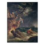 A tempestade, c.1762 cartão postal