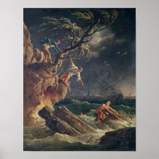 A tempestade, c.1762 poster