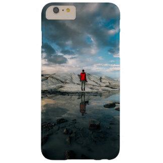 A tensão do espelho do esmalte capas iPhone 6 plus barely there