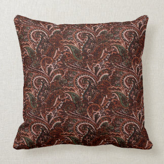A terra clássica tonifica o travesseiro decorativo almofada