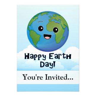 A terra é dia feliz convites