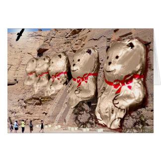 A terra esquecida de Ted - cartões de nota do urso