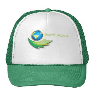 A terra revela o chapéu do logotipo boné