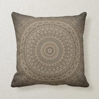 A terra tonifica o travesseiro decorativo almofada
