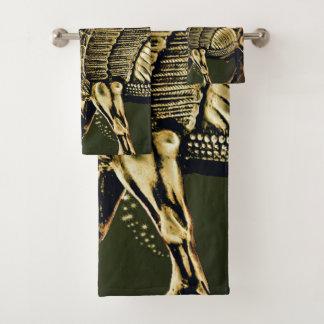 A toalha de Lamassu do Assyrian ajustou 5