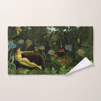 """A toalha de mão ideal da arte de Rousseau """""""""""