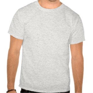 A tomada sobre o T Tshirt