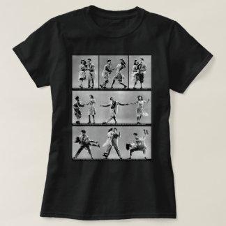 A torção camiseta