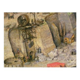 A torre de Babel Cartão Postal
