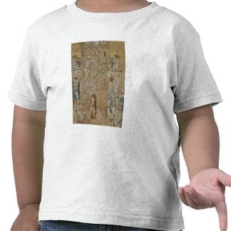A torre de Babel do vestíbulo Tshirts