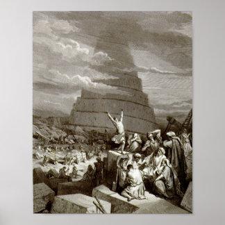 A torre de Babel Poster
