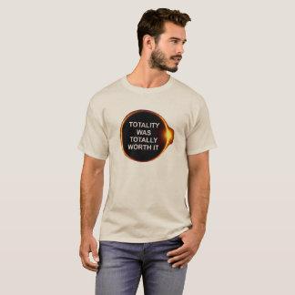 A totalidade era totalmente valor ele, camisa do