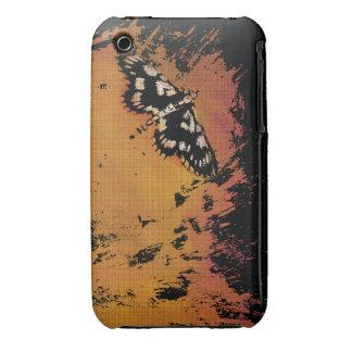 A traça em um quente aquece o respingo - capa capas para iPhone 3 Case-Mate