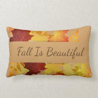 A Travesseiro-Queda das folhas de outono é bonita Almofada Lombar