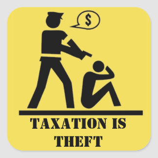 A tributação é etiqueta do roubo