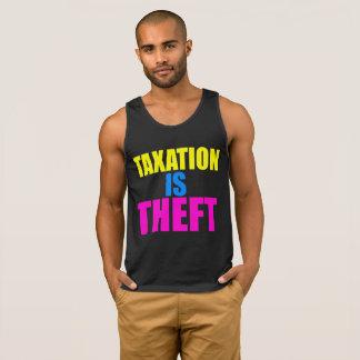 A tributação é TANQUE do roubo