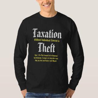 A tributação sem acordo individual é roubo camiseta