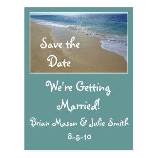 a tropical-praia, salvar a data,… cartão postal