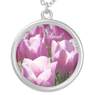 A tulipa roxa da colar conhecida feita sob encomen